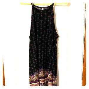 XXL Xhilaration tank top high neck dress